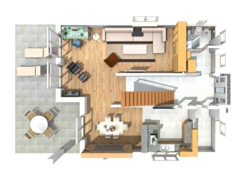 Haus des Monats Februar 2016 Erdgeschossperspektive