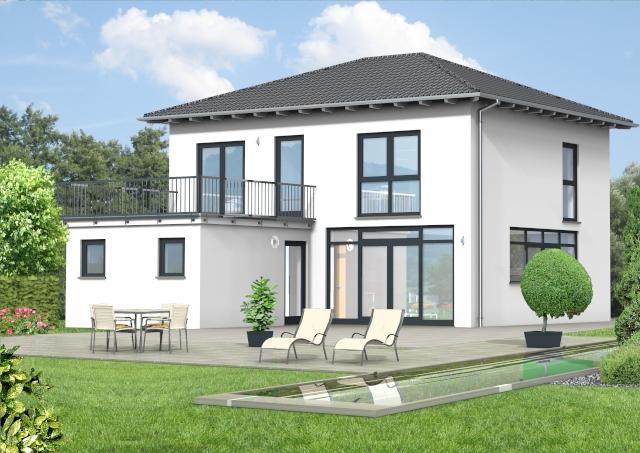 Bauset bauset hausplaner meinhausplaner walmdachhaus for Walmdachhaus grundriss