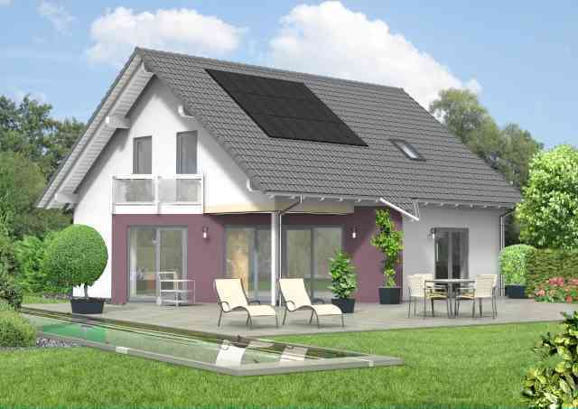 bauset bauset hausplaner meinhausplaner haus sd 67. Black Bedroom Furniture Sets. Home Design Ideas