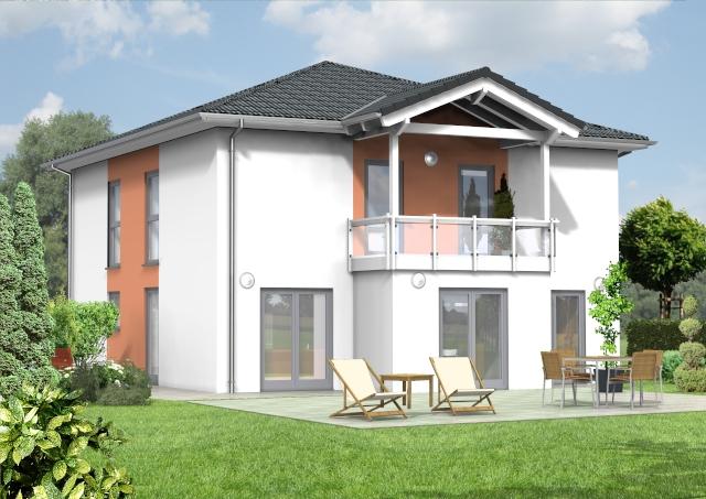 bauset bauset hausplaner meinhausplaner stadthaus 12. Black Bedroom Furniture Sets. Home Design Ideas