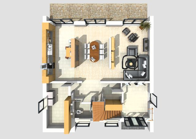 hausplanung software kostenlos haus planen online. Black Bedroom Furniture Sets. Home Design Ideas