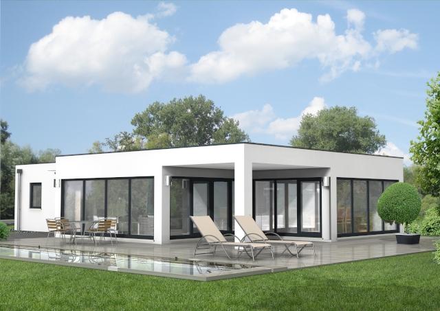 Bauset bauset hausplaner meinhausplaner haus august 2016 for Haus modern flachdach