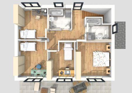 3D-Begehung OG-Grundriss - Bitte Bild anklicken !